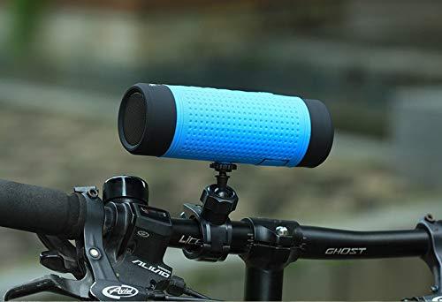 GXY-Kartenlautsprecher Bluetooth-Fahrradradio-Lautsprecher für den Außenbereich im Freien, blau