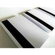 wei/ß CardPlus PVC Plastikkarte mit HiCo Magnetstreifen 4.000Oe VPE 500 Stk.