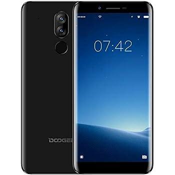 ... Dual SIM Smartphone Libre 4G, Android 7.0 Telefonos, 5.5 Pulgadas HD IPS Display (18: 9 Pantalla Completa) y MT6737V Quad Core Movil, 2GB + 16GB-Negro