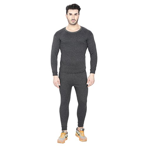 c791b7eb5bc Sheomy Fashion Winter Body Warmer Thermal Top Pajama Bottom Mens Warm Winter  Suit Combo Set