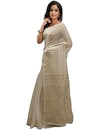 Tjsarees Silk Saree (TJ500042_White_Free Size)