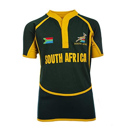 Rugby Nations Kinder Rugby-Trikots Gr. 3-4 Jahre, Südafrika