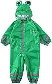 Raincoat Poncho Triple Waterproof Design Rain Cape With Reflective Strip Kids Rain Coat,Reusable Thickened Wat