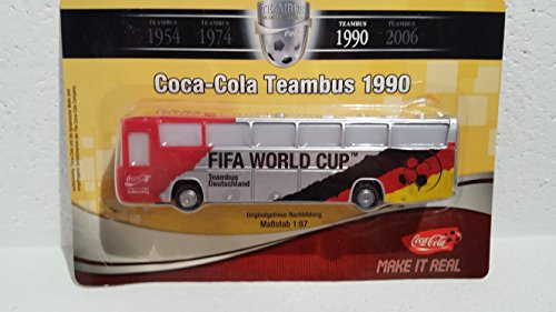 Coca Cola - Team Bus von 1990 : Fifa - World Cup