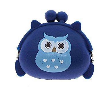 nalmatoionme tragbar Cute Eule Stil Owl Coin Case Candy Geldbörse Beutel Tasche (Geldbörsen Candy)