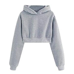 Damen Gro/ße Gr/ö/ße Hoodie Pullover Brief drucken Jacke lose Fledermaus /Ärmel Shirt GreatestPAK