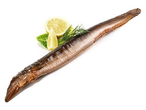 Preisvergleich Produktbild 350g Räucheraal: Hochwertige geräucherter Aal aus der Lachsräucherei Henke