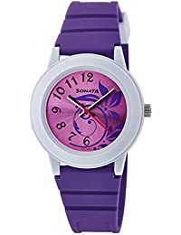 Sonata Analog Purple Dial Women's Watch NM8992PP03 / NL8992PP03