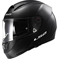 LS2 103971011XL FF397 Casco Vector Solid, Color Negro Mate, Tamaño XL