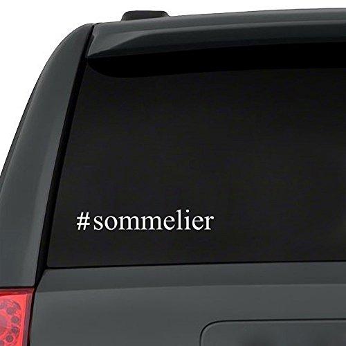 Teeburon Sommelier Hashtag - Abziehbild x 3