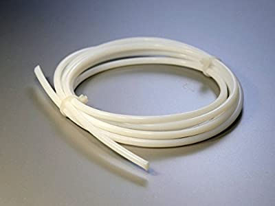 Anycubic 2PCS 1 Meter PTFE Teflon Bowdenrohr für 1,75 Filament 3D-Drucker RepRap Rostock Kossel