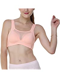 Peach Soft Padded Non wire CAMISOLE BRA for Plus Size ,Cup size- B & C