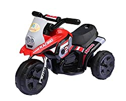 Baybee Mini BWM Racing Battery Operated Sports Bike (Red)