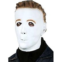 Paper Magic Men's Michael Myers Promotional Mask, White, One Size (máscara/ careta)