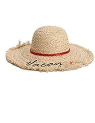 ed9b537e82f62 HYF 2019 Sombrero para el Sol Lafite Lady Sombrero para el Sol Vacaciones de  Verano Bordado