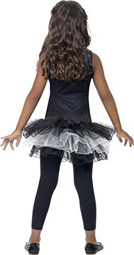 Imagen de smiffy's  disfraz para niña con diseño esqueleto, talla m 43029m  alternativa