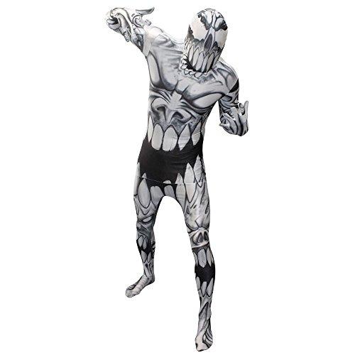 Morphsuits MLMOM2 - Mouth Monster Erwachsene Kostüme, Größe 186-210 cm, XXL, multi (Ganz Körper Anzug Kostüme)