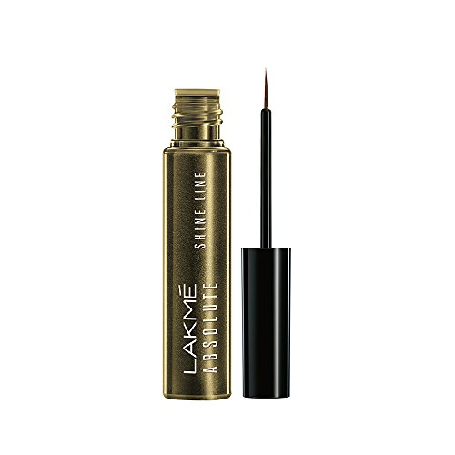 Lakme Absolute Shine Line Eye Liner, Liquid Gold, 4.5ml