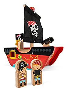 Le Toy Van TV344 - Juguete Pirata para Barco