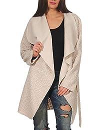 Amazon.it  offerte - Beige   Giacche e cappotti   Donna  Abbigliamento 282f52303c0