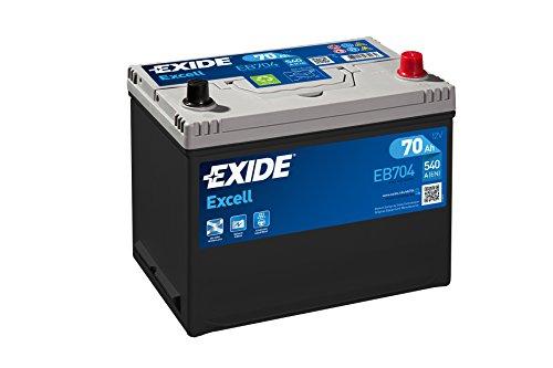 EXIDE 030SE EB704Batteria Auto 70Ah