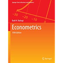 Econometrics, Fifth Edition (Springer Texts in Business and Economics)