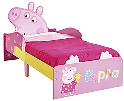 Peppa Pig Toddler Bed by HelloHome - low-cost UK light store.
