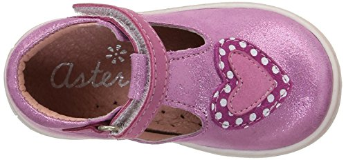 Aster Rakel, Chaussures Premiers pas bébé fille Rose