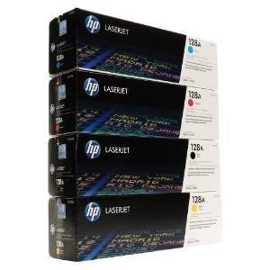 HP Laserjet Original Tonerkit (128A) CE320A / CE321A / CE322A / CE323A -