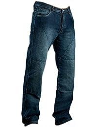 Juicy Trendz Hommes Motorcycle Moto Pantalon Motards Jeans Renforcée Aramide Protection