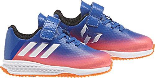adidas Rapidaturf Messi El I, Sneakers Basses Mixte Enfant Bleu (Azul/ftwbla/narsol)