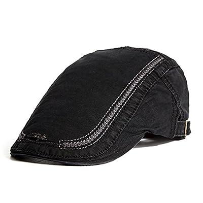 SUNNYME Herren Sonnenschutz Barett Cap Sticken Gatsby Maler Tongue Golf Kappe Hut