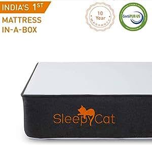 SleepyCat - Gel Memory Foam Mattress (72x60x6 inches)