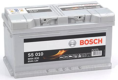 S5 010 Bosch Batterie de Voiture 12V 85Ah Type 110 S5010