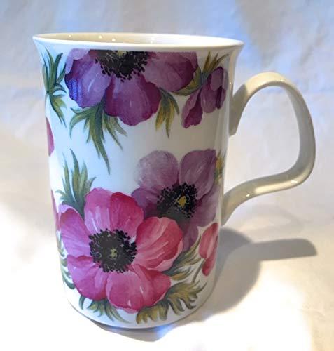 Roy Kirkham Anemone Tasse aus feinem Porzellan, Blumenmotiv Anemone Cup