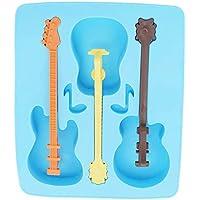 Ogquaton Molde de Hielo de Verano Premium Herramienta de Bebida Hielo en casa Guitarra Regalos de