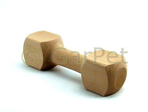 Hunde Apportierholz Apportel Bringholz hochwertig Apportholz Obedience Hundesport (Größe 3.)