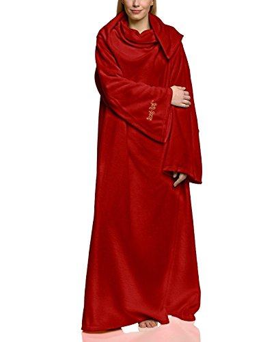 """Coperta di pile con maniche Snug Rug LITE Polar 260gsm 60"""" x 84"""" , Colore: Rosso"""