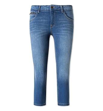 C&A Damen Capri Jeans Hose jeans - blau Größe 48 kurz