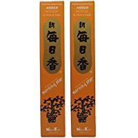 Trimontium 189 Nippon Kodo Morning Star japanische Räucherstäbchen Duopack, 2 x 50 Stück, Amber/Bernsteinharz preisvergleich bei billige-tabletten.eu