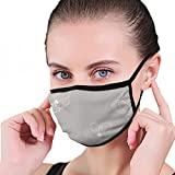 100% Polyester,1 piece dustproof mask.STRONG BREATHABLE: The flu face mask was made of skin friendly Polyester material which is breathable and comfortable to wear. It is perfect for everyday use.ADJUSTABLE NOSE BRIDGE: According to each person's nas...