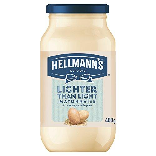 Más ligero que el de 400g Mayonesa Light Hellmann