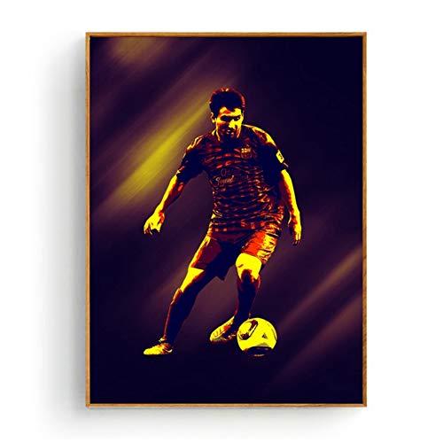 Lionel Andres Messi Football star prints decoración