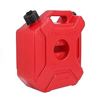 Auxbeam FUEL OIL WATER PETROL DIESEL RED CAN 5 LITRE STORAGE TANK 5L 1 Year Warranty