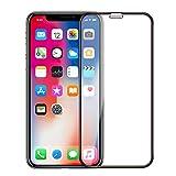 Bakicey iPhone XS Verre Trempé Screen Protector 3 Pièces Film Protection en Verre Tempered Glass Screen Protector pour iPhone XS - 5D sans Bulles d'air -Ultra Résistant Dureté 9H