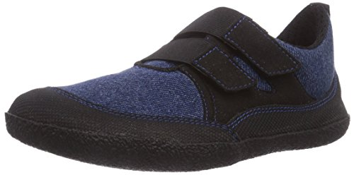 Sole Runner Unisex-Kinder Puck Sneakers, Blau (blue/black 80), 34 EU