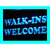 ADV PRO i190-b OPEN Walk-Ins Welcome Shop Display Light Signs
