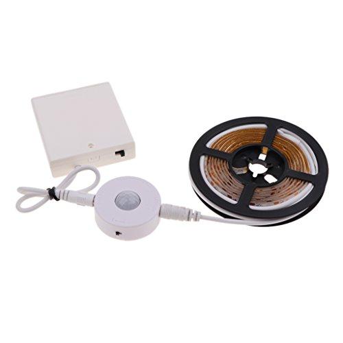 MagiDeal Veilleuse à Induction de Nuit avec Outil Portable Lampe Magnétique pour Camping Voyage Courir - Blanc 1,5 mètre