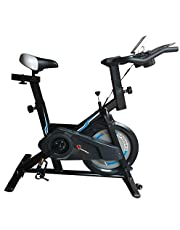 PowerMax Fitness Steel BS-150 Home Use Group Bike/Spin Bike with iPad & Bottle Holder Home Use Group Bike