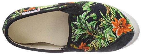 Kawasaki Fantasy Slim, Sneakers, Unisex Multicolore (Maui Black)